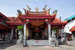 Phuket, Thaïlande : Temple chinois Photo libre de droits