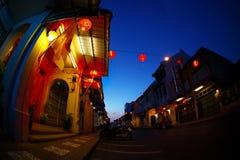 Phuket town stock photos