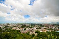 Phuket Town from Khao Rang viewpoint Stock Photography