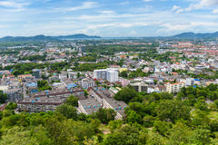 Phuket Town top view from Rang Hill Stock Photography