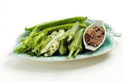 Phuket trocknete Fischpaste-Paprika-Soße (Nam Phrik Fotorezeptor stockbilder