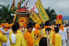 Phuket Vegetarian Festival Provincial tradition Royalty Free Stock Photo