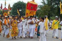 Phuket Vegetarian Festival Provincial tradition Royalty Free Stock Images