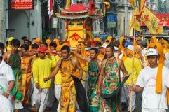 Phuket Vegetarian Festival Provincial tradition Stock Image