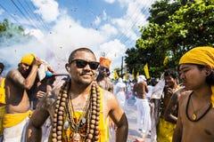 Phuket vegetarianfestival Royaltyfri Bild