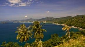 Phuket View. An image of Phuket wast coast line royalty free stock photo