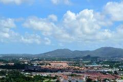 Phuket view. At Khaorang hill Stock Image