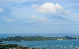 Phuket view. At  Naga hills, Phuket, Thailand Stock Image
