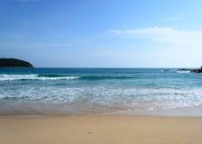 Phuket view. At NaiHarn-beach Royalty Free Stock Photography