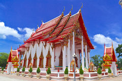 Phuket View Point Chalong Temple Phuket,Thailand, Royalty Free Stock Photo