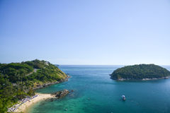 Phuket view point Royalty Free Stock Images