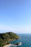 Phuket view at Promthep cape. Phuket, Thailand Royalty Free Stock Images