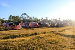 Phukradueng camping. Phukradueng forest camping, Loei, Thailand stock photo