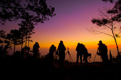 Phukradueng National Park of Thailand Stock Images