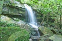 Phukradung della cascata di Penpobpra di nordest alla Tailandia Immagine Stock Libera da Diritti
