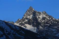 Phuletate, high mountain near Gokyo Royalty Free Stock Image