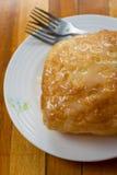 Phulka en sort av chapatien: hemmet gjorde indiskt tunt bröd Royaltyfri Fotografi