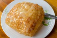 Phulka um tipo do Chapati: a casa fez o pão fino indiano Imagens de Stock Royalty Free