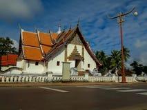 Phumin寺庙的秀丽是古庙在南 库存照片
