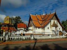 Phumin寺庙的秀丽是古庙在南 库存图片