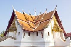 Phumin di Wat alla provincia di Nan Immagini Stock Libere da Diritti