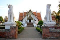 Phumin tempel Arkivfoto