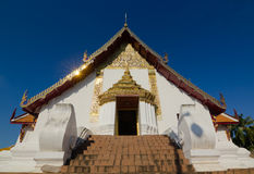 Phumintempel in Nan Province, Thailand Stock Afbeelding