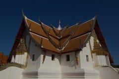 Phumintempel in Nan Province, Thailand Royalty-vrije Stock Fotografie