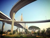 Phumiphol-Brücke Stockfotografie