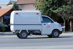 Phungnoi面包店微型卡车  免版税库存照片