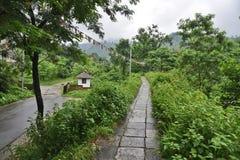 Phuntsholing vers le Bhutan Image stock