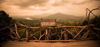 Phupapoh at Loei Thailand. Phupapoh Mountain at Loei Thailand Royalty Free Stock Image