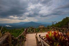 Phupapoh przy Loei Tajlandia Zdjęcie Royalty Free