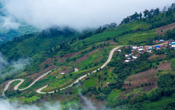 Phutabberk góra, Tajlandia Zdjęcie Stock