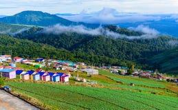 PHUTHAPBOEK PHETCHABUN THAILAND - OCTOBER 9 : Resorts and lodges Stock Images