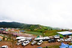 PHUTHAPBOEK PHETCHABUN THAILAND - OCTOBER 8 : Resorts and lodges Royalty Free Stock Images