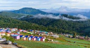 PHUTHAPBOEK PHETCHABUN THAILAND - OCTOBER 9 : Resorts and lodges Stock Photo