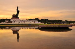 Phutthamonthon公园 免版税库存照片