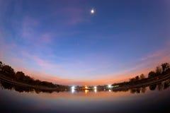 Phutthamonthon é um parque budista Fotografia de Stock