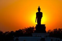 Phutthamonthon é um parque budista Foto de Stock