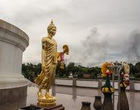 Phutthamonthon é um parque budista foto de stock royalty free