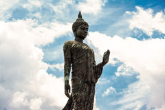 Phutthamonthon is a Buddhist park. In Nakhon Pathom Province of Thailand. Highlighted by a 15.87 m high Buddha statue which is considered to be the tallest free Stock Images