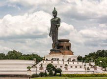 Phutthamonthon is a Buddhist park in Nakhon Pathom Province of Thailand. Highlighted by a 15.87 m high Buddha statue which is considered to be the tallest free Stock Photos
