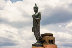 Phutthamonthon is a Buddhist park. In Nakhon Pathom Province of Thailand. Highlighted by a 15.87 m high Buddha statue which is considered to be the tallest free Stock Photo