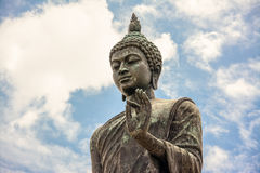 Phutthamonthon is a Buddhist park. In Nakhon Pathom Province of Thailand. Highlighted by a 15.87 m high Buddha statue which is considered to be the tallest free Royalty Free Stock Photos