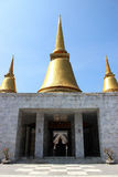 Phutthamonthon okręgu nakhon Obrazy Royalty Free