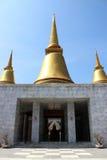 Phutthamonthon områdesnakhon Royaltyfria Bilder