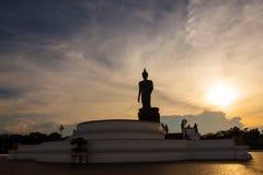 Phutthamonthon ställe av dyrkan i Salaya, Thailand ·, Tambon S arkivbild