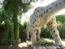 Phuwiangosaurus Wczesny Cretaceous /120 milion rok temu Ciężar: 50 ton W Dinopark Fotografia Royalty Free
