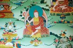 Phyang修道院,拉达克,印度 库存照片